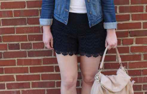 lace shorts | alwayseatdessert.com